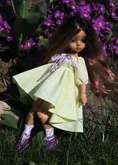 4H5A5381 (Yumi♡) Tags: bjd doll garden yumistudio spring flowers glacedolls 2019 yellowdress