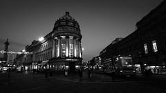 Newcastle Upon Tyne (Brett T) Tags: dualiso bw newcastle street architecture night