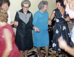 Christina, Olive, Elizabeth & Avril (Brett Jordan) Tags: brett brettjordan httpx1brettstuffblogspotcom oldphotographs scannedphotos