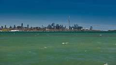 Green waters of Lake Ontario (BishRocks) Tags: d750 nikon nikkor nikond750 nikkor2470mmf28 toronto ontario humberbaypark humberbay bluesky blue green lakeshore lake lakeontario canada