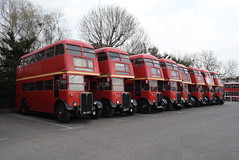 LT RT4548, RT548, RT4772, RT4424, RT961, RT3775, RT714 and RT2911 @ Stagecoach Barking depot (ianjpoole) Tags: london transport aec regent 3rt old768 rt4548 hlx359 rt548 old559 rt4772 nxp778 rt4424 kgu235 rt961 nle882 rt3775 jxc77 rt714 mll658 rt2911 stagecoach barking depot