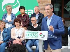 LAZKAO Hautagaitzaren aurkezpena (EAJ - PNV Gipuzkoa) Tags: eajpnv emanbidea markelolano kepazubiarrain lazkao goierri gipuzkoa elecciones