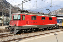 2019-03-15, CFF, Brig, Re 420 198 (Fototak) Tags: eisenbahn treno train railway locomotive elok re420 brig valais switzerland sbbcffffs 420198