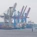 Hamburg: Containerbrücke