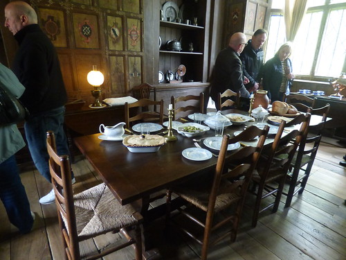 Canons Ashby House - Servants' Hall