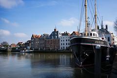 Tug Hudson in port of Maassluis (De Witt's) Tags: netherlands maassluis tug port rotterdam smitco ship boat