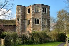 Otford Palace (Croydon Clicker) Tags: palace castle tower ruin abandonment tudor ancient archbishop sky cloud bush tree grass window wall