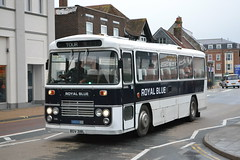 Royal Blue 1318 BDV318L (Will Swain) Tags: newport isle wight 15th october 2018 island south coast bus buses transport travel uk britain vehicle vehicles county country england english royal blue 1318 bdv318l