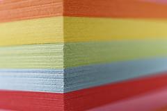 Macro Mondays #Pastel (T.Seifer : )) Tags: notepad pastel macromondays colours nikkor closeup hmm macro paper