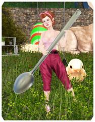 easter (Morrigan Braddyll) Tags: easter pascua huevos eggs egg freckles pecas pelirroja redhead regalos hunt gift caza caceria belle epoque elf pixie elven