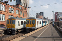 Northern 319372 & 319446 (Mike McNiven) Tags: arriva railnorth northern emu electric multipleunit thameslink manchester manchesterairport deansgate blackpool wigan northwestern