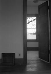 Frank7 (mikemarcotte386@att.net) Tags: bourbonnais farmhouse interior dwelling doowway woodwork trim farm window illinois
