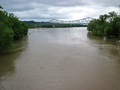 Scioto River-Ohio River confluence (Portsmouth, Ohio, USA) 2 (James St. John) Tags: ohio river scioto rivers portsmouth confluence