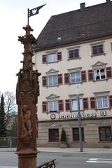 Rottweil, älteste Stadt in Baden-Württemberg (Travertin) Tags: rottweil brunnen georg