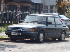 1993 Saab 900 Turbo 3 DOHC 16v (Neil's classics) Tags: vehicle 1993 saab 900 turbo 3 dohc 16v car