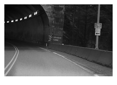 Ferrabee Tunnel (1964) (Robert Drozda) Tags: ferrabeetunnel britishcolumbia canada transcanadahighway highway1 tunnel fraserrivercanyon road mountain 1964 fbxtopdx2018 drozda
