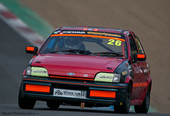 Classic Stock Hatch Championship - Fiesta XR2i ({House} Photography) Tags: 750 motor club classic stock hatch championship hot racing race motorsport sport car automotive brands uk kent fawkham track indy circuit housephotography timothyhouse canon 70d sigma 150600 contemporary ford fiesta xr2i