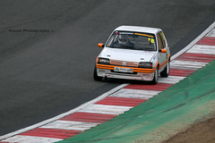 Classic Stock Hatch 205 GTi ({House} Photography) Tags: 750 motor club classic stock hatch championship hot racing race motorsport sport car automotive brands uk kent fawkham track indy circuit housephotography timothyhouse canon 70d sigma 150600 contemporary peugeot 205 gti french