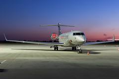 Private | Gulfstream G650 | M-PLUS | 15.04.2019 | Warsaw - Okecie (Maciej Deliś) Tags: private gulfstream g650 mplus warsaw chopin airport night shot bizjet business jet