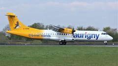 G-VZON (AnDyMHoLdEn) Tags: aurigny atr egcc airport manchester manchesterairport 05r