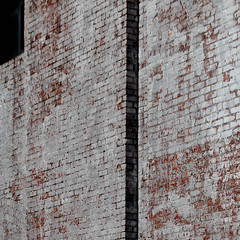 wall (morbs06) Tags: newyork abstract architecture brick building city colour facade geometry light lines pattern shadow square stripes texture wall