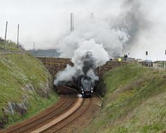 F5058867 E-M5ii 40mm iso400 f5.6 1_200s 0 (Mel Stephens) Tags: 20190505 201905 2019 q2 10x8 5x4 wide olympus mzuiko mft microfourthirds m43 1240mm pro omd em5ii ii mirrorless gps uk scotland aberdeen torry transport train rail railway steam engine 60009