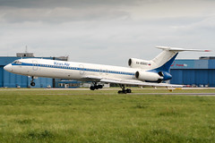 RA-85660 (PlanePixNase) Tags: aircraft airport planespotting haj eddv hannover langenhagen krasair tupolev tu154