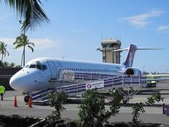 N485HA Hawaiian Airlines Boeing 717-22A (BayAreaA380Fan Photography) Tags: keaholekonaintlairport koa phko hawaiianairlines southwestairlines alaskaairlines boeing 737 717 boeing737 boeing717 boeing767 767 unitedairlines nevadaone