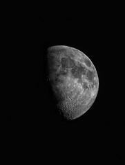 Moon (David.W.) Tags: moon hα waxinggibbous nyaa telescope astronomy night sky