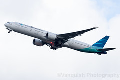 PK-GIA Garuda Indonesia B777-300 Amsterdam Schiphol (Vanquish-Photography) Tags: pkgia garuda indonesia b777300 amsterdam schiphol vanquish photography vanquishphotography ryan taylor ryantaylor aviation railway canon eos 7d 6d 80d aeroplane train spotting eham ams airport amsterdamschiphol schipholairport amsterdamschipholairport