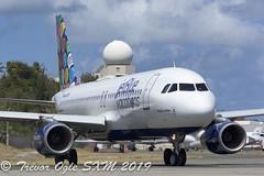 DSC_7951Pwm (T.O. Images) Tags: n648jb jetblue airbus a320 sxm st maarten princess juliana airport