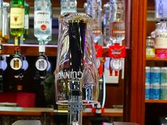 NOT A GOOD SIGN AN EMPTY GUINNESS GLASS (Monkiiiey Henry Clark) Tags: not a good sign an empty guinness glass