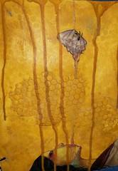 Bees Nest (limerickme) Tags: mixed media art journal