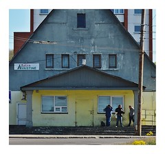 Business business business (haidem3) Tags: urban architecture street building streephotography house oldhouse people