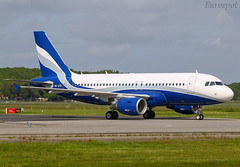 9H-XFW Airbus A319 Hi Fly (@Eurospot) Tags: 9hxfw airbus a319 3689 toulouse blagnac hifly