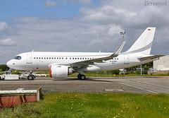 D-AVWG Airbus A319 Néo CJ Arctic Tern (@Eurospot) Tags: davwg daneo airbus a319 neo 8612 a319153n toulouse blagnac arctictern