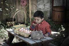 Pascua Iker-34 (licagarciar) Tags: boy niño pascua conejo