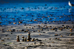 Stones by the sea (mgschiavon) Tags: nature abstract sea beach california
