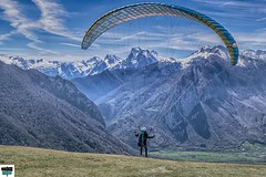 Air d'envol de parapente (https://pays-basque.coline-buch.fr/) Tags: 2019 64 accous aquitaine avril béarn colinebuch france airdenvole daspe montagne nature parapente paturages paysage pyrénées pyrénéesatlantiques vallée