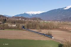 E300 dans la Combe (Frédérick Jury) Tags: train bahn savoie tarentaise eurostar tmst e300