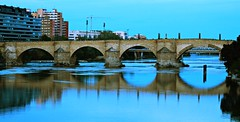 Puente de Piedra (portalealba On vacation) Tags: zaragoza aragon españa spain portalealba canon eos1300d ebro o 1001nightsthenew