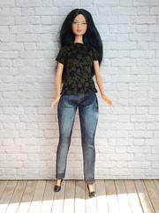 Custom request (Levitation_inc.) Tags: ooak handmade doll dolls clothes barbie bbb shirt jeans 2019 levitationfashion levitation casual