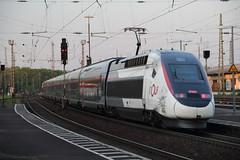 TGV 4711 Rastatt, Germany (Paul Emma) Tags: germany rastatt karlsruhe railway railroad electrictrain train tgv 4711