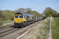 66739 Rearsby (Gridboy56) Tags: gm gbrf uk locomotive locomotives leicestershire rearsby bardon bardonhill wagons class66 cargo europe england emd railways railroad railfreight trains train 66739 6m76 bluebellrailway