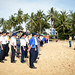 Pacific Partnership 2019 Participates in a Beach Cleanup