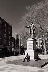 Quiet Moment (raymorgan4) Tags: quiet moment statue fujifilm xt20 cardiff batchelor freedom the hayes wales tree mayor antislavery liberal