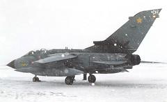 cal31dh (TinyB1312) Tags: raf tornado dh 31sqn calgary canada snow 2002
