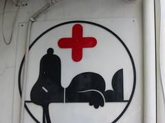 'Poor old Snoopy' (Veterinary Hospital, Thessaloniki, Greece) (Steve Hobson) Tags: thessaloniki greece snoopy veterinary hospital