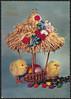 God Påske (National Library of Norway) Tags: nasjonalbiblioteket nationallibraryofnorway påskekort påske eastercards easter postkort postcards kyllinger påskekyllinger egg påskeegg