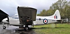 VP967 DE HAVILLAND DEVON  YORKSHIRE AIR MUSEUM (toowoomba surfer) Tags: aircraft aviation aeroplane museum airmuseum aviationmuseum